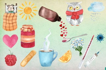 17 png Get Well Watercolor Clip Art