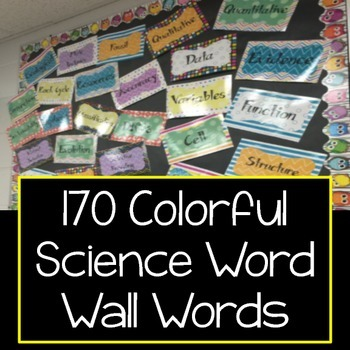 Science Word Wall
