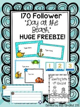 170 Follower BEACHY Freebie!