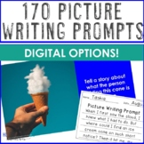 170 Picture Writing Prompts -Set 2: Morning Work Special Education or Elementary