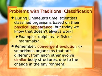 17.2- 17.3 Classification of Animals; Science; Taxonomy