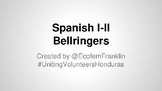172 Bellringer Activities