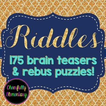 175 Riddles & Brain Teasers