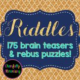 175 Riddles & Brain Teasers