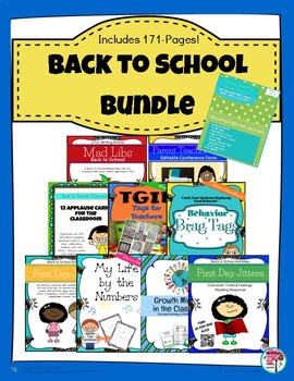 175-page Back to School Bundle