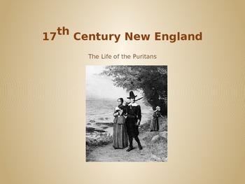 17th Century New England