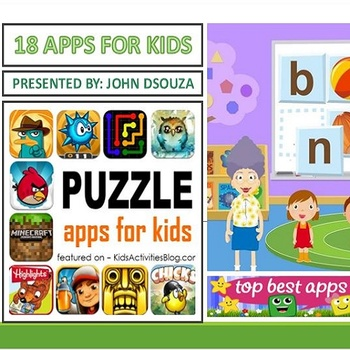 18 APPS FOR KIDS: PRESENTATION