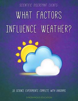 18 Cause and Effect Science Experiments that Explore What Influences Weather