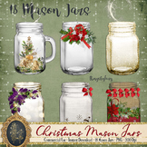 18 Christmas Mason Jars Diamond Antique Jar Magic Fairy Jars