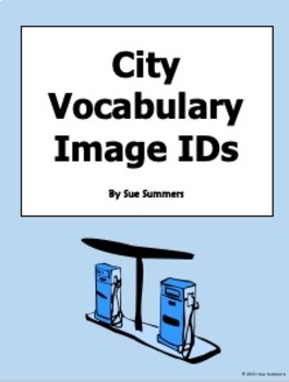 City Vocabulary IDs for Any Language - 18 Images