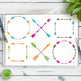 18 Colorful Arrows Clipart, Arrow Wreath, Crossed Arrows, Tribal Arrow, Boho
