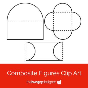 18 Composite Figures Clip Art {The Hungry Designer}