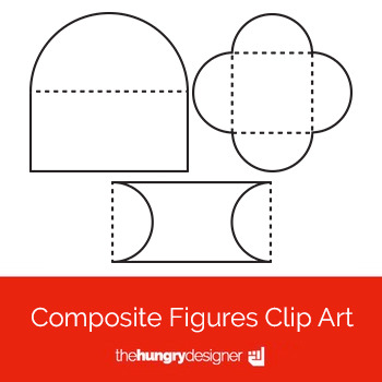 18 Composite Figures Clip Art {The Hungry Designer}