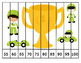 18 Counting and Skip Counting Race Car Puzzles!