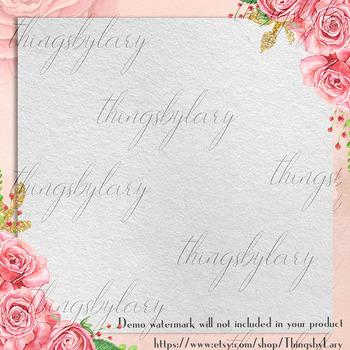 18 Craft Texture Digital Papers Vintage Texture Background