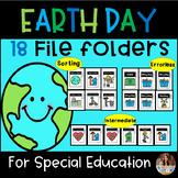 18 Earth Day File Folders