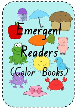 Color Themed Emergent Readers
