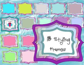 18 Filled Frames
