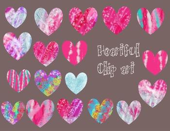 18 Heartful Clip Arts