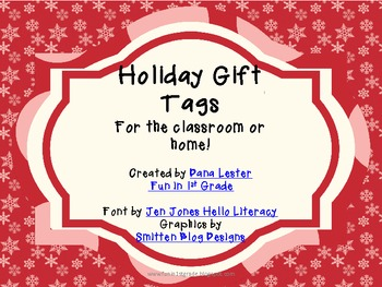 18 Holiday Gift Tags {FREE!}