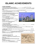 WORLD UNIT 3 LESSON 5. Islamic Achievements GUIDED NOTES
