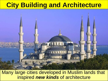 UNIT 3 LESSON 5. Islamic Achievements POWERPOINT
