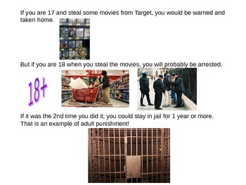 18+ Laws and Info