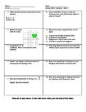18 Math 7 Quizzes