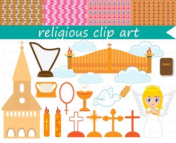 19 PNG Files- Religious ClipArt Clipart- Communion-Digital Clip Art 11