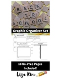 18-Page Graphic Organizer - Back To School