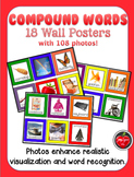18 Posters with 180 Photos of Compound Words - Build Vocab