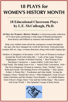 18 Plays for Women's History Month