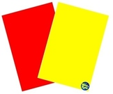 18 Red & Yellow Cards ~ Red - Syllable Words ~ Yellow - Charades