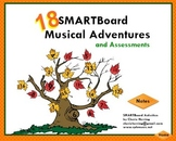 18 SMARTBoard Musical Adventures and Assessments