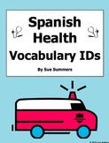 18 Spanish Health and Medical Vocabulary 18 Image IDs - La Salud