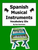 Spanish Musical Instruments Vocabulary Image IDs