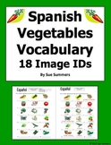 Spanish Food Vegetables 18 Image IDs - Los Vegetales
