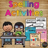 Spelling Stations and Centers for K-2, Word Study