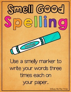 Spelling Activities POSTERS for K-2, Word Study or Any Word List