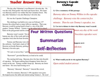 18 Fun Reading Comprehension Passages and Questions