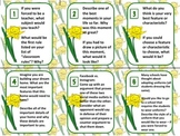 18 Spring Task Cards: Collaborative Classbuilding Activity