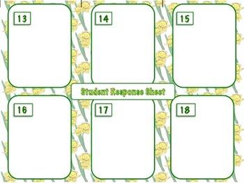 18 Spring Task Cards: Collaborative Classbuilding Activity