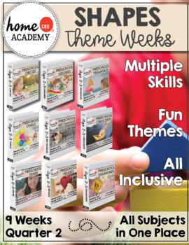 Tot School Preschool Curriculum Bundle Complete Year (Age 2-3)