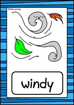 18 Weather Flashcards