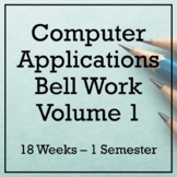 18 Weeks of Computer Applications Bell Ringers