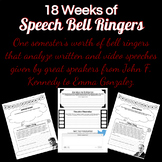 18 Weeks of Speech Bell Ringers