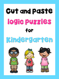 Logic Puzzles for Kindergarten, 1st Grade and Special Ed