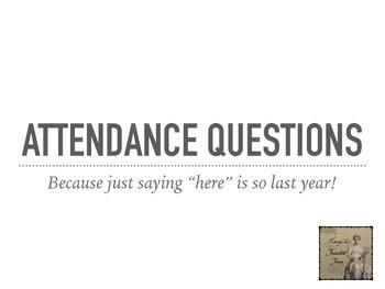 180 Attendance Questions