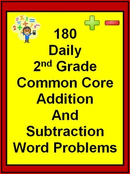 180 Daily 2nd Grade Common Core Addition and Subtraction W