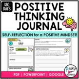 180 Day Journal of Positive Thinking | Step-by-Step Writin